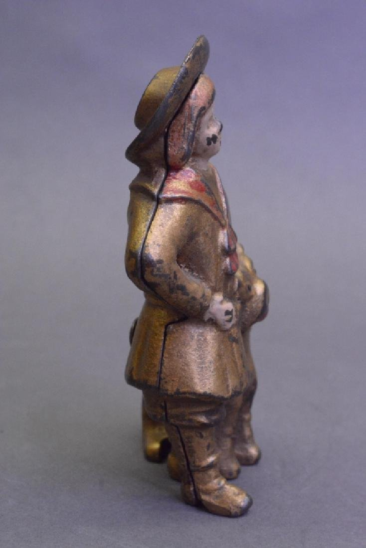 A.C Williams Cast Iron Buster Brown & Tige Bank - 3