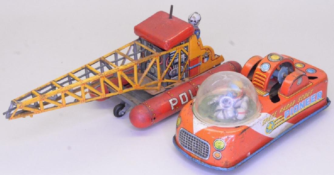 Lot Of Two Tin Litho Toys