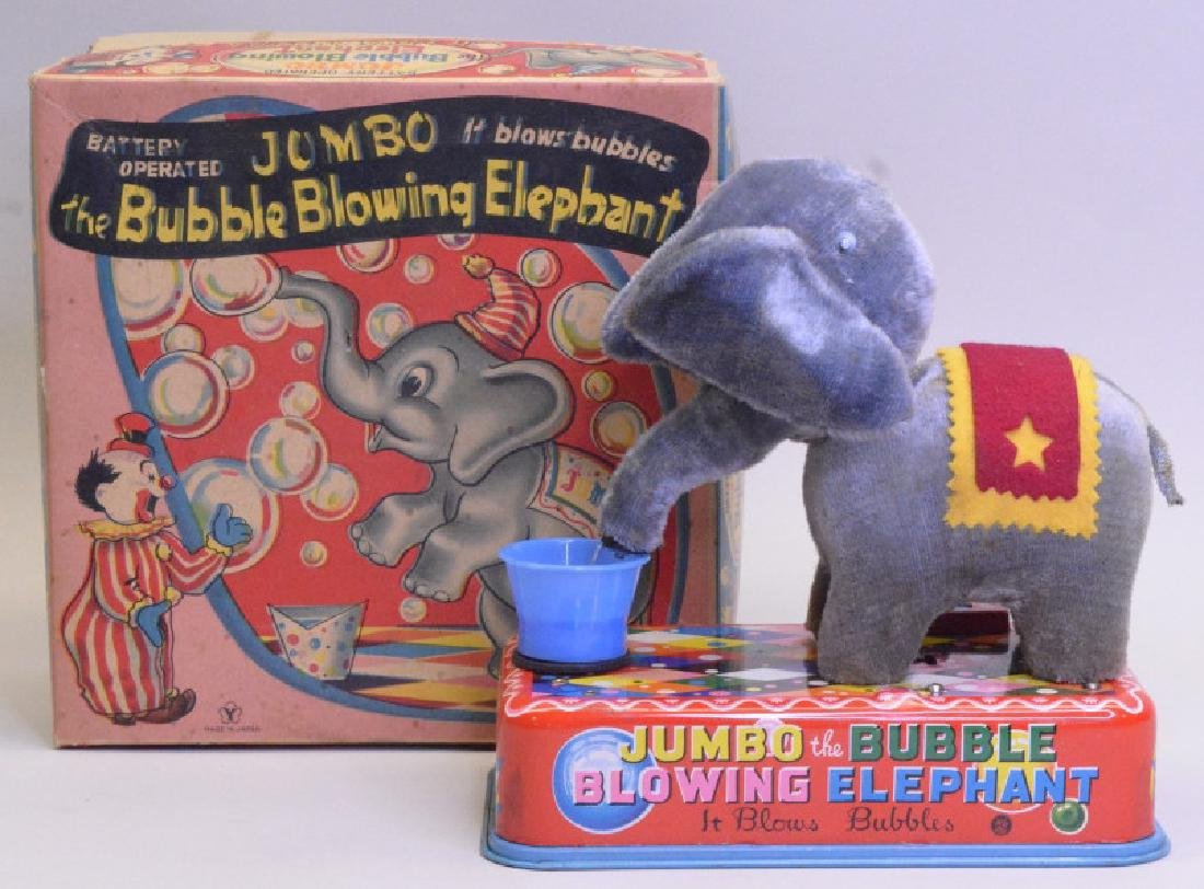 Yonezawa Toy Jumbo The Bubble Blowing Elephant