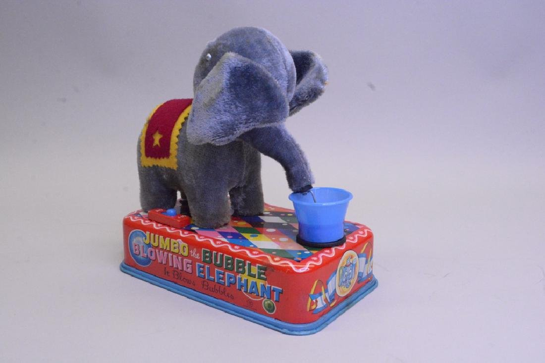 Yonezawa Toy Jumbo The Bubble Blowing Elephant - 3