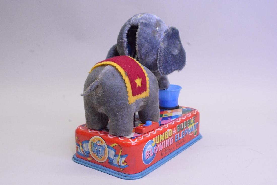 Yonezawa Toy Jumbo The Bubble Blowing Elephant - 4