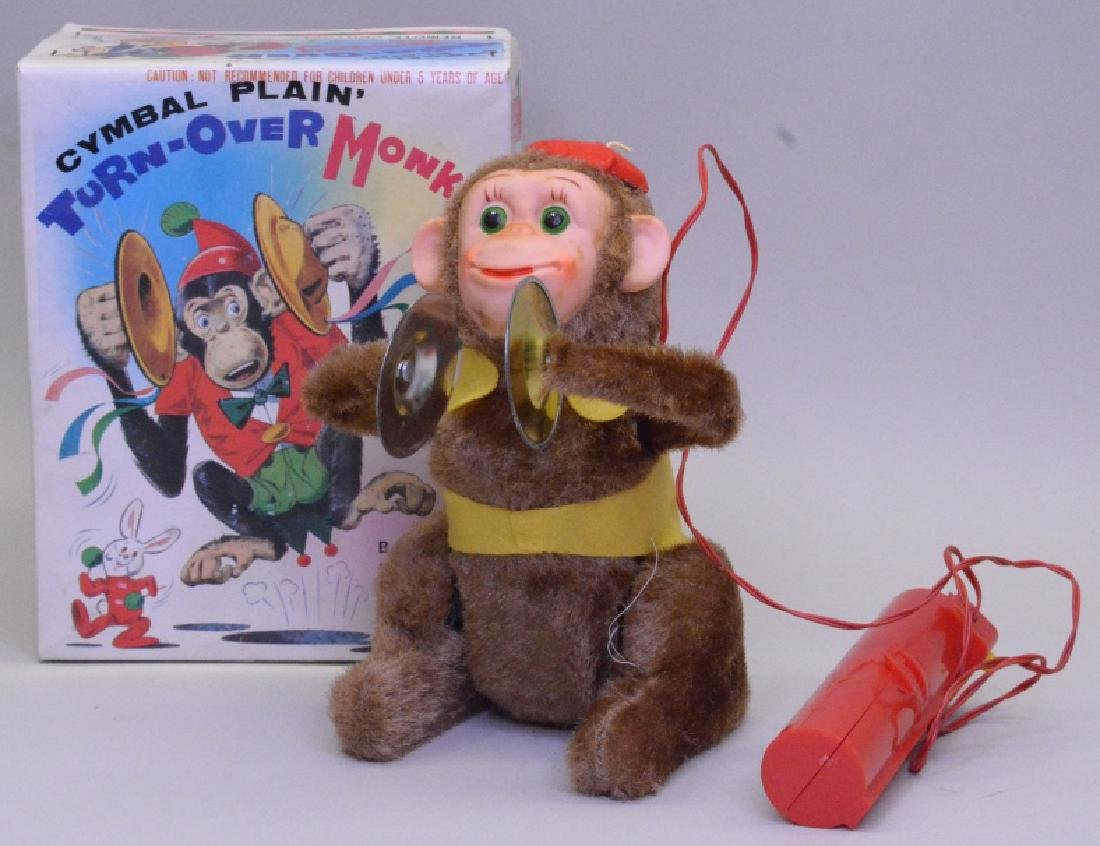 Remote Control Cymbal Plain' Turn - Over Monkey