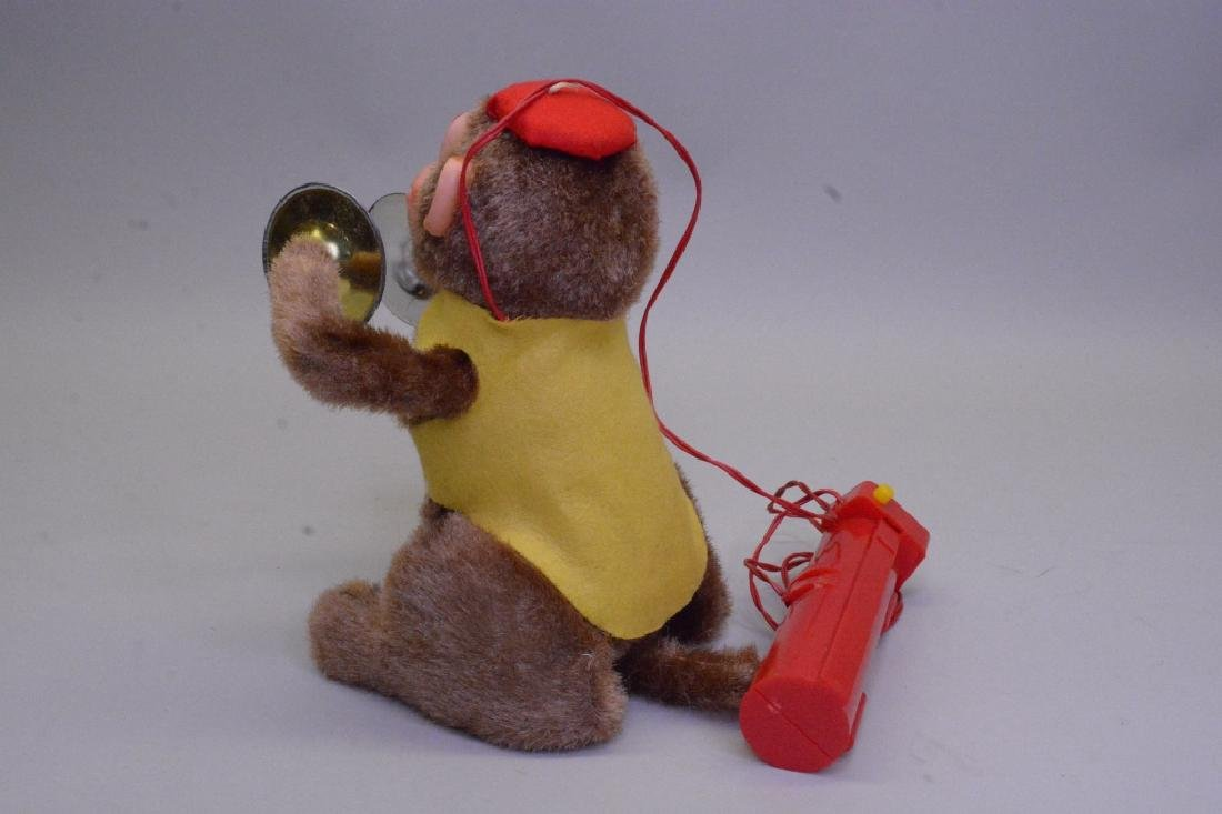 Remote Control Cymbal Plain' Turn - Over Monkey - 4