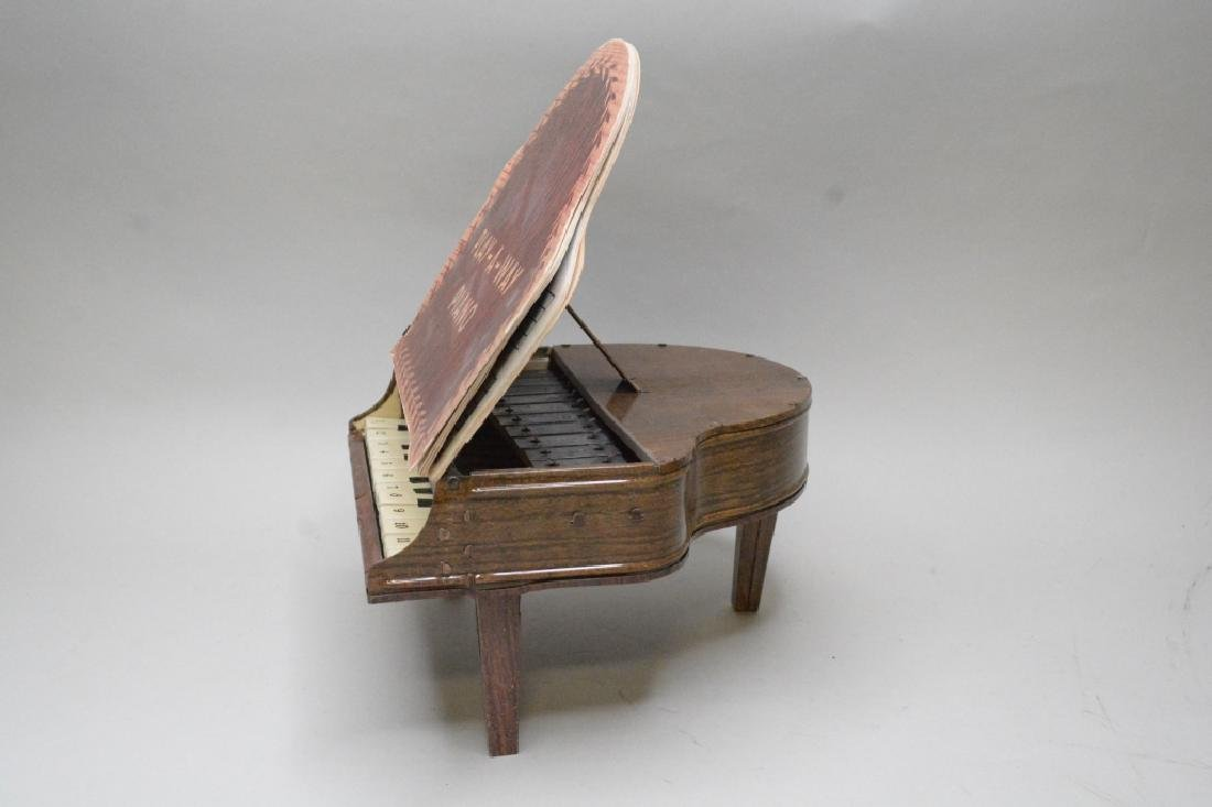 Marx Tin Litho Play-A-Way Book Piano - 2