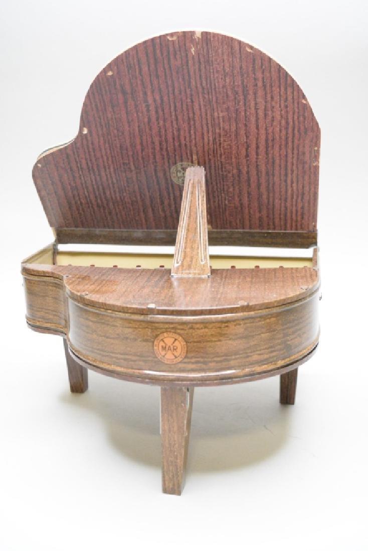 Marx Tin Litho Play-A-Way Book Piano - 3