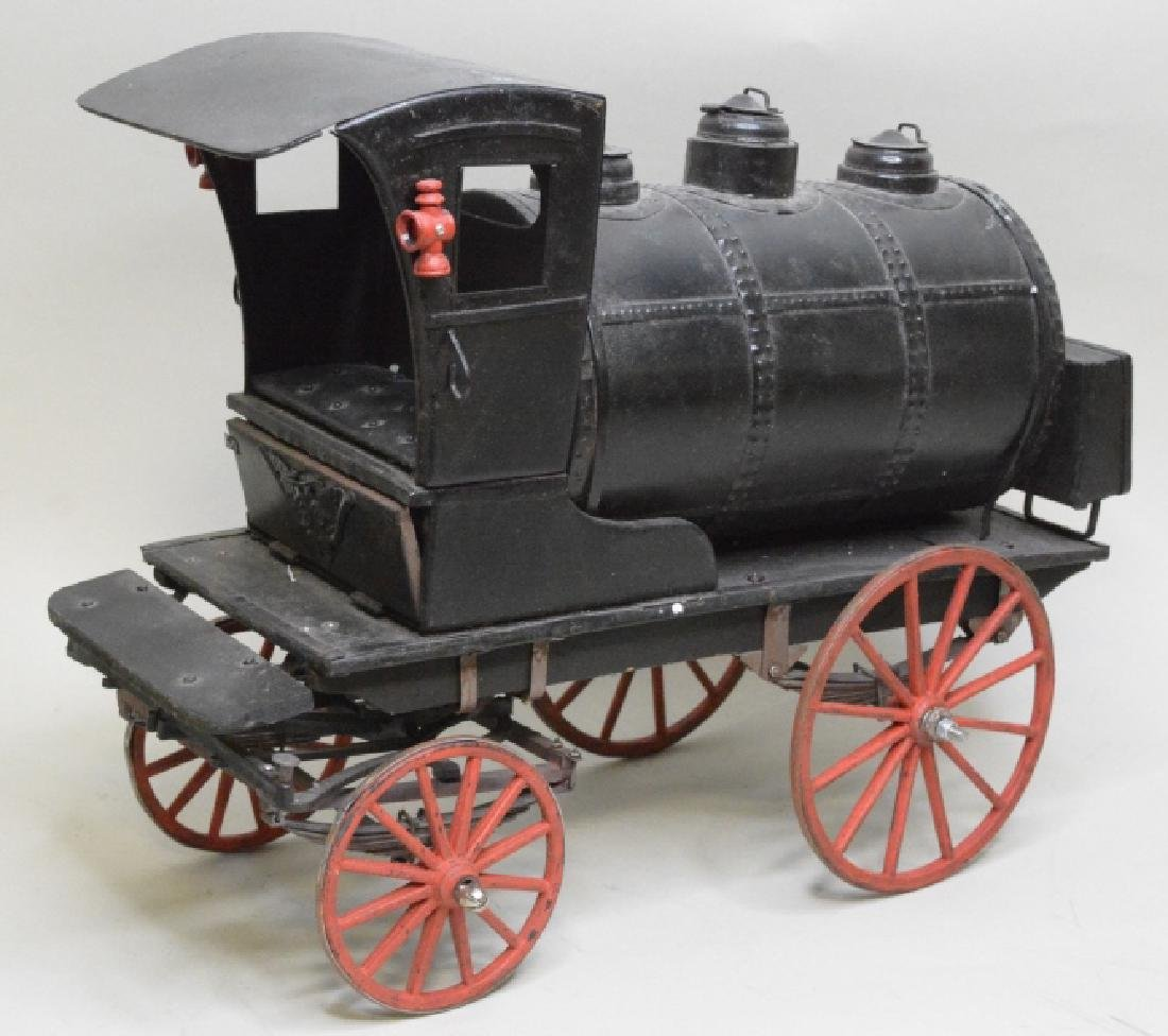 Early Horse Drawn Oil Tanker