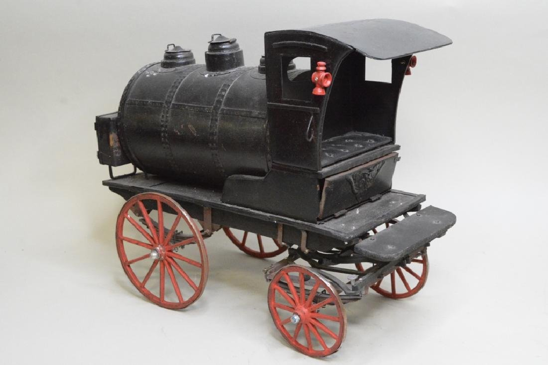 Early Horse Drawn Oil Tanker - 2