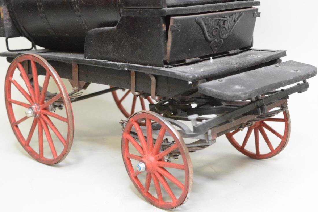 Early Horse Drawn Oil Tanker - 3
