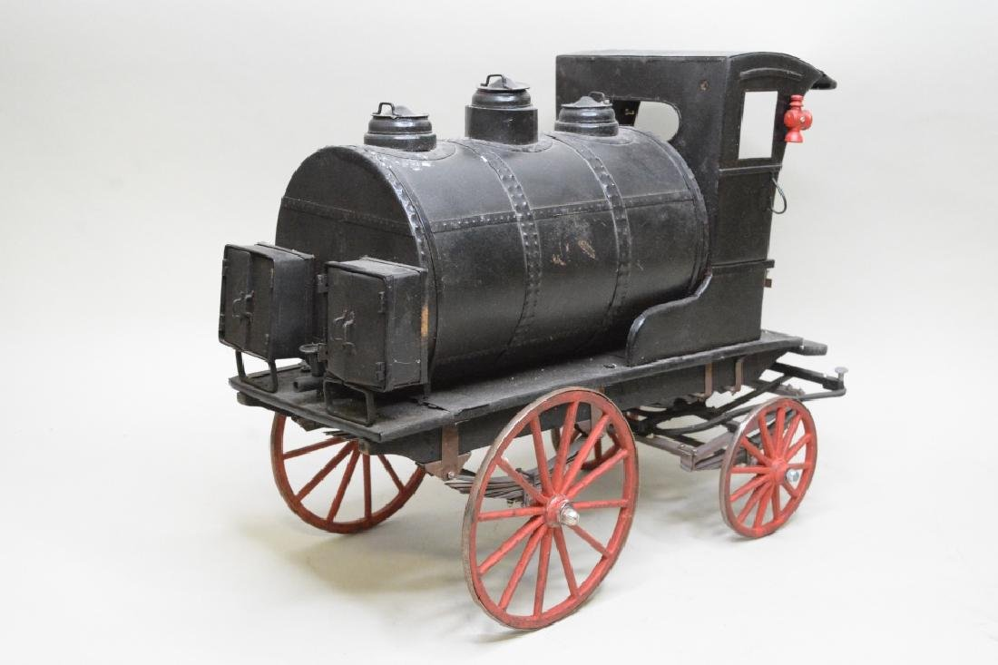 Early Horse Drawn Oil Tanker - 4