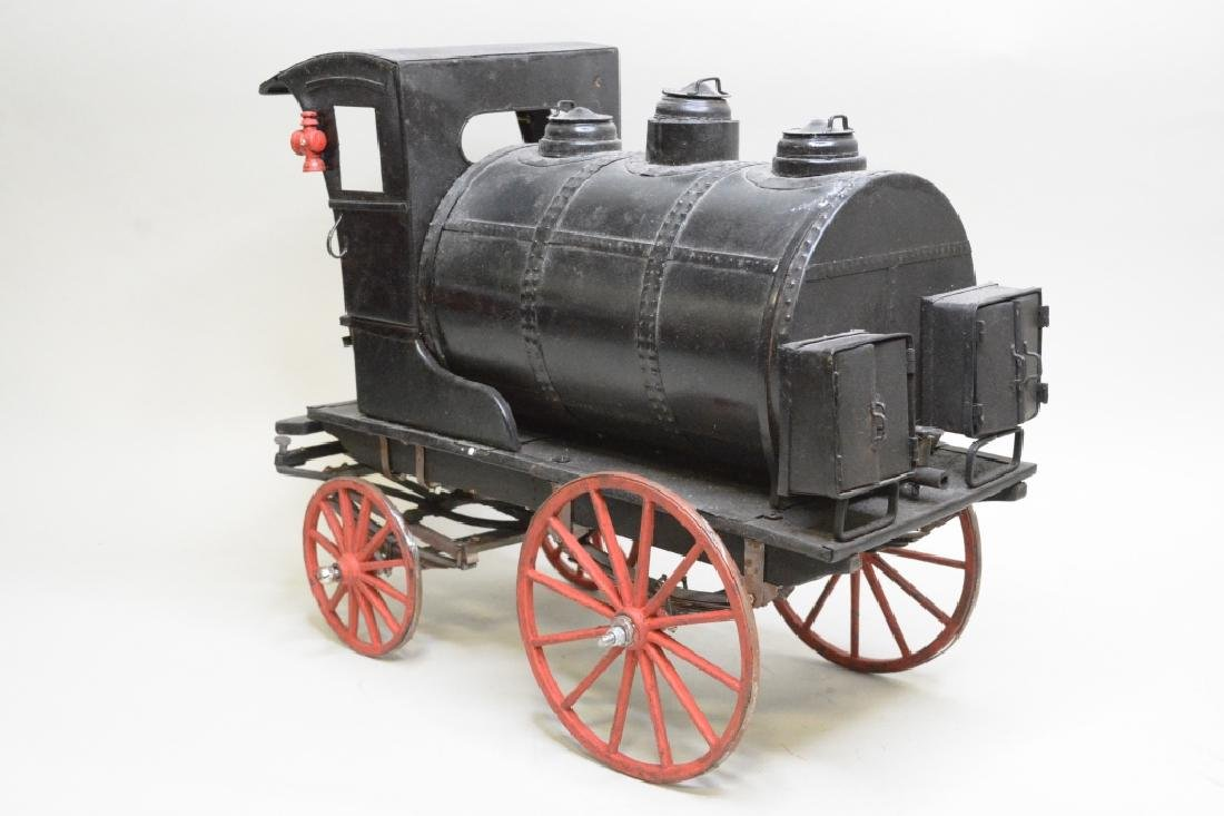 Early Horse Drawn Oil Tanker - 5