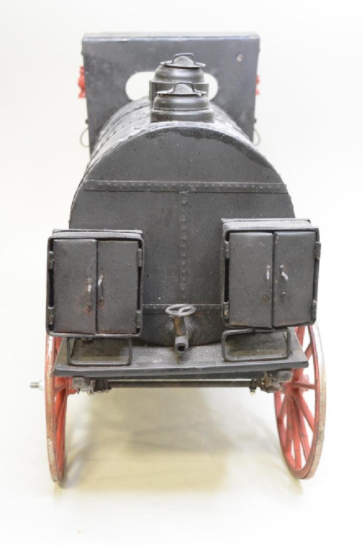 Early Horse Drawn Oil Tanker - 6
