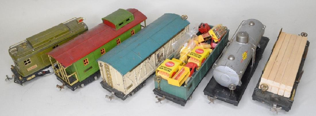 Pre War Lionel Standard Gauge Train Car Lot