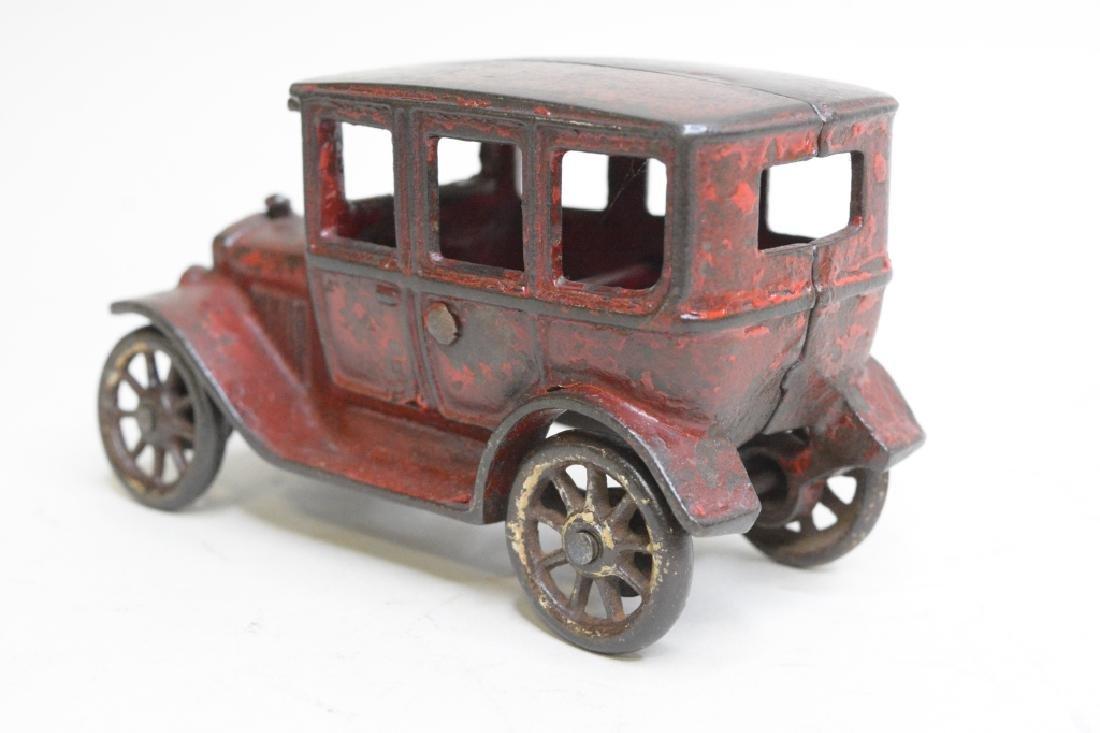 Arcade Cast Iron Model T Car - 4