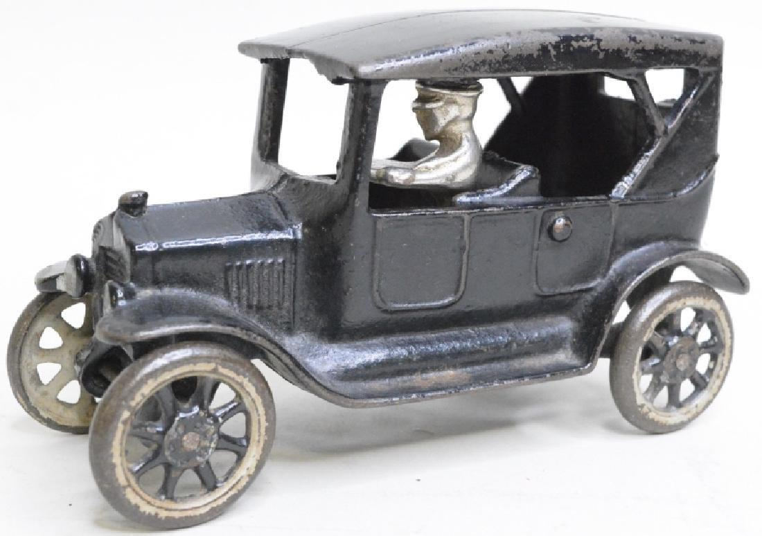 Arcade Cast Iron Model T Car With Driver