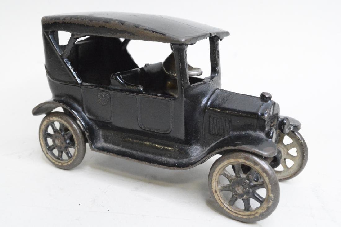 Arcade Cast Iron Model T Car With Driver - 2