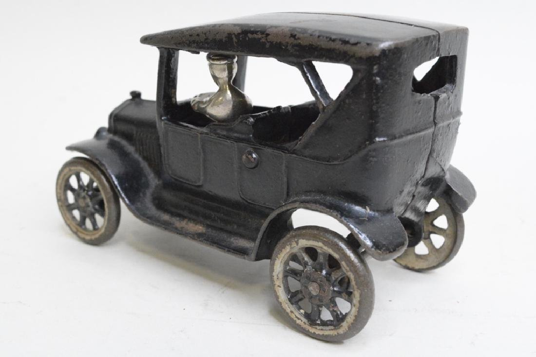 Arcade Cast Iron Model T Car With Driver - 4