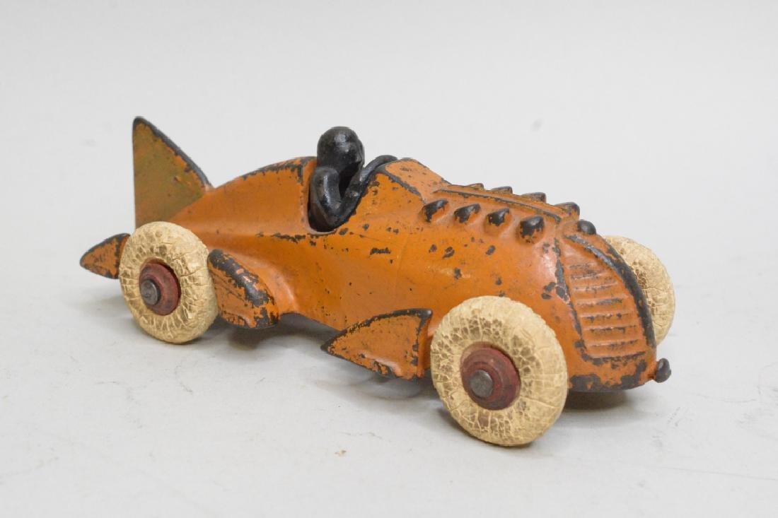 Hubley Cast Iron Racer - 2