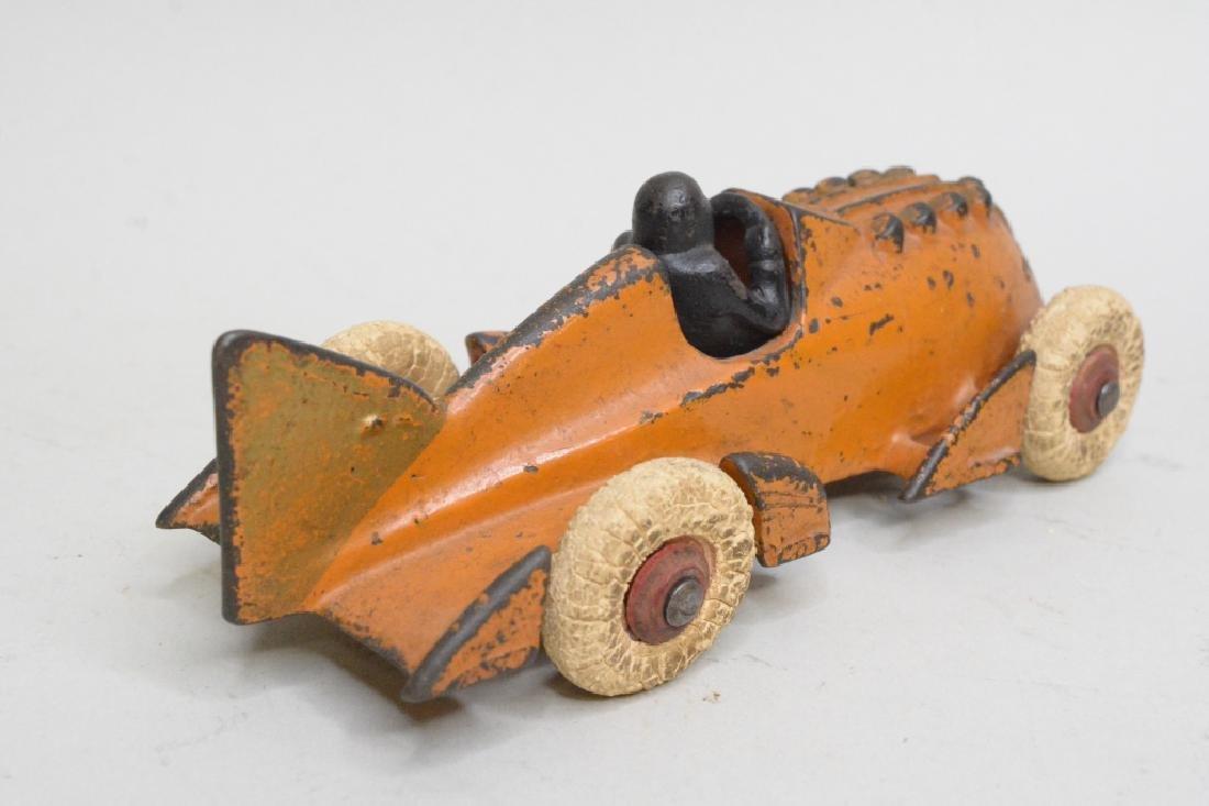 Hubley Cast Iron Racer - 3