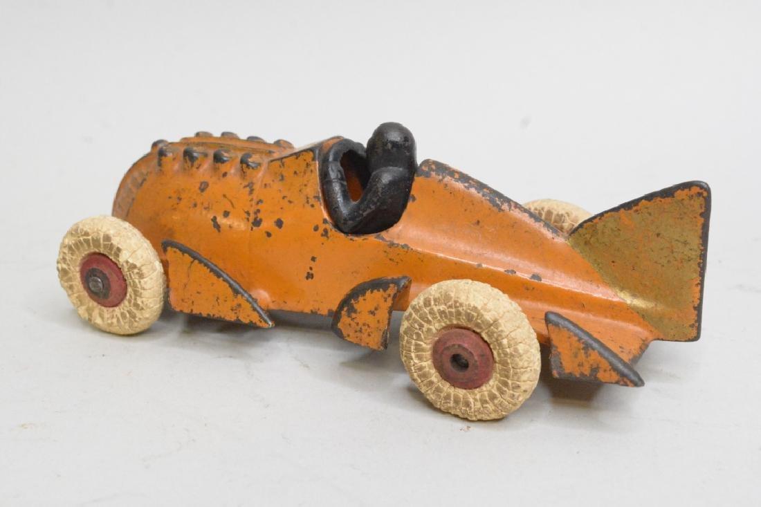 Hubley Cast Iron Racer - 4