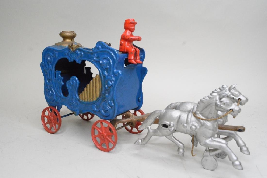Cast Iron Horse Drawn Wagon - 2