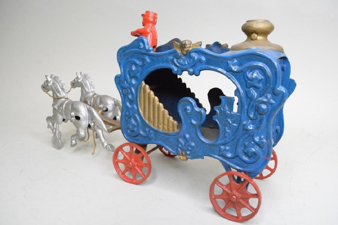 Cast Iron Horse Drawn Wagon - 4