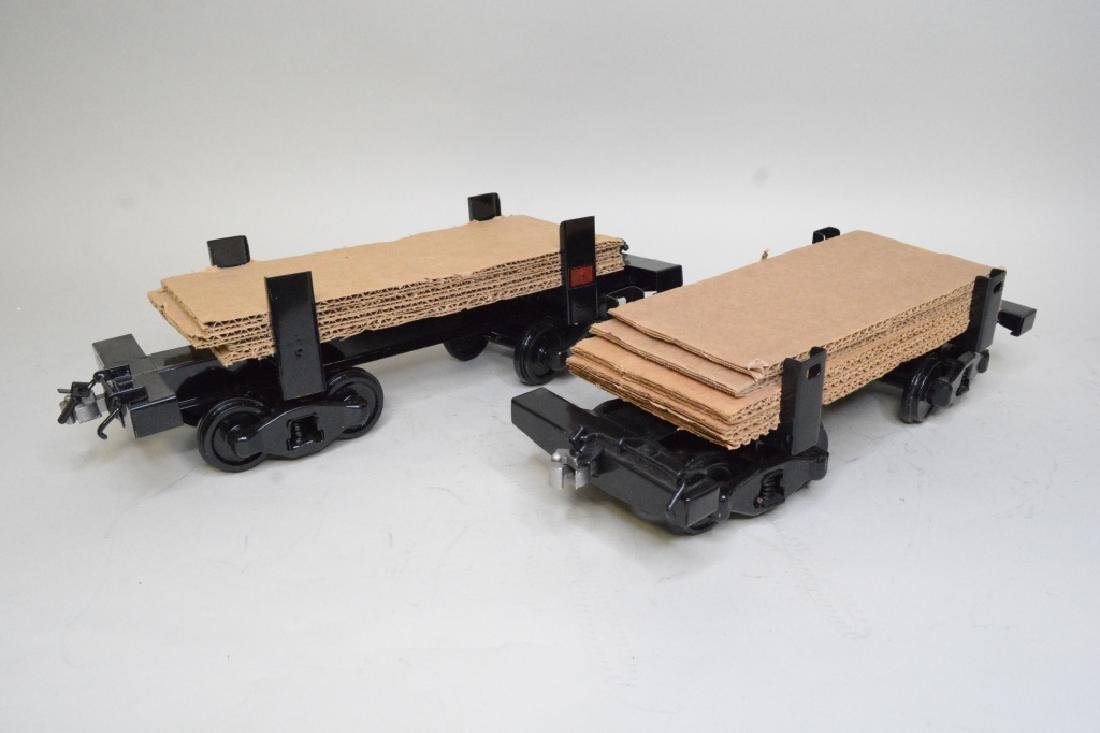 "Two Buddy ""L"" Outdoor Train Flat Cars - 3"