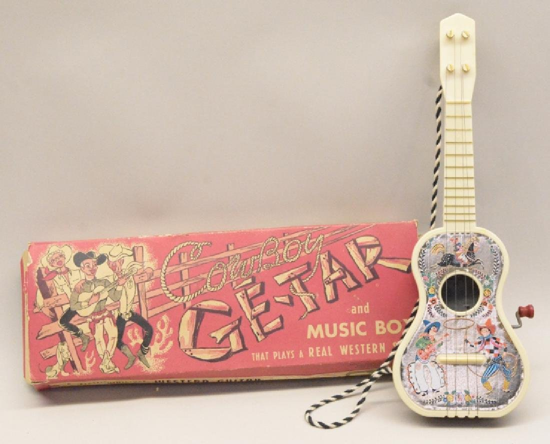 Mattel Cow Boy Ge-Tar And Music Box