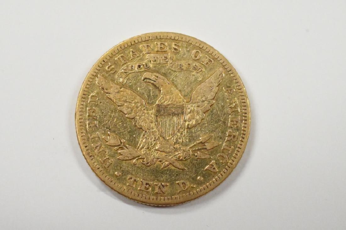 1880 Liberty Head $10 Gold Eagle - 2