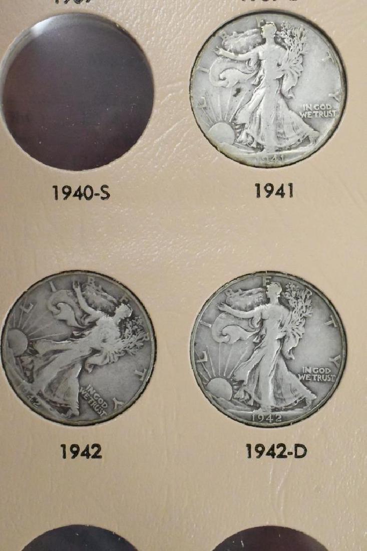 35- Walking Liberty Silver Half Dollars - 10