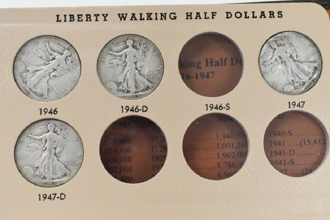 35- Walking Liberty Silver Half Dollars - 7