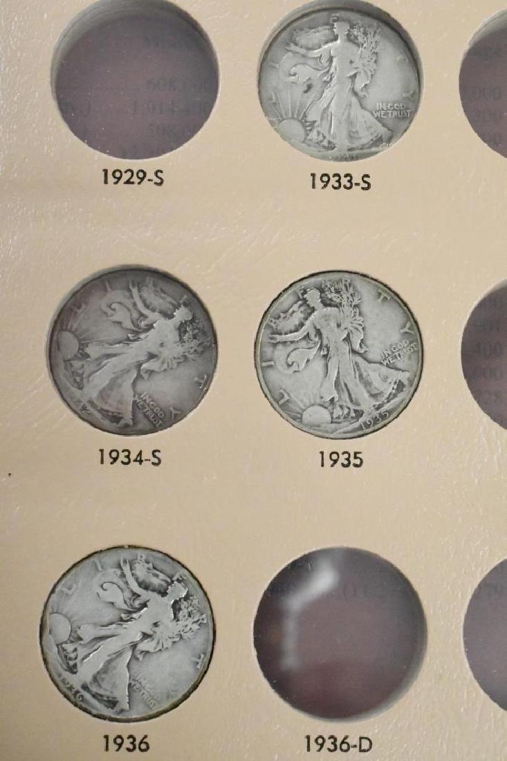 35- Walking Liberty Silver Half Dollars - 9