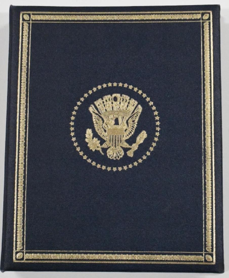 Franklin Mint Sterling Presidential Medal Set