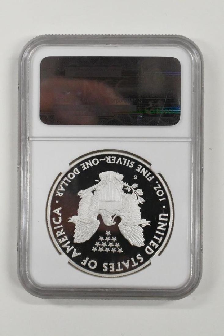 2012-S American Silver Eagle NGC PF 69 Ultra Cameo - 2