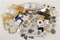 Large Lot of US and Foreign Coins