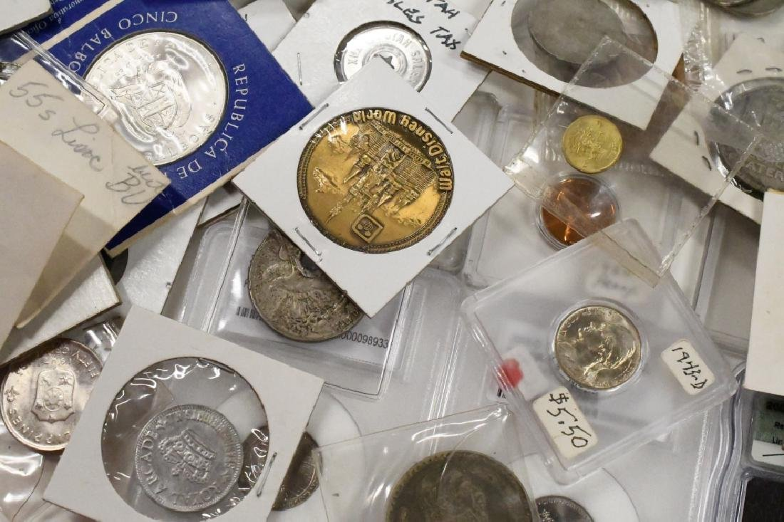 Large Lot of US and Foreign Coins - 2