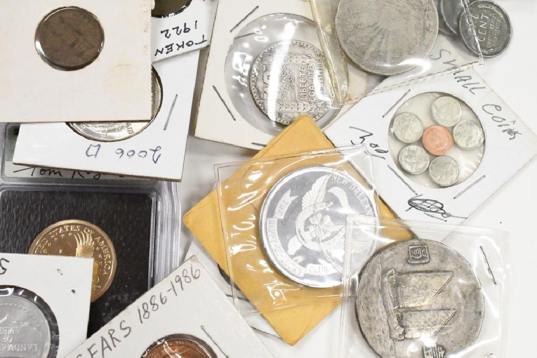 Large Lot of US and Foreign Coins - 5