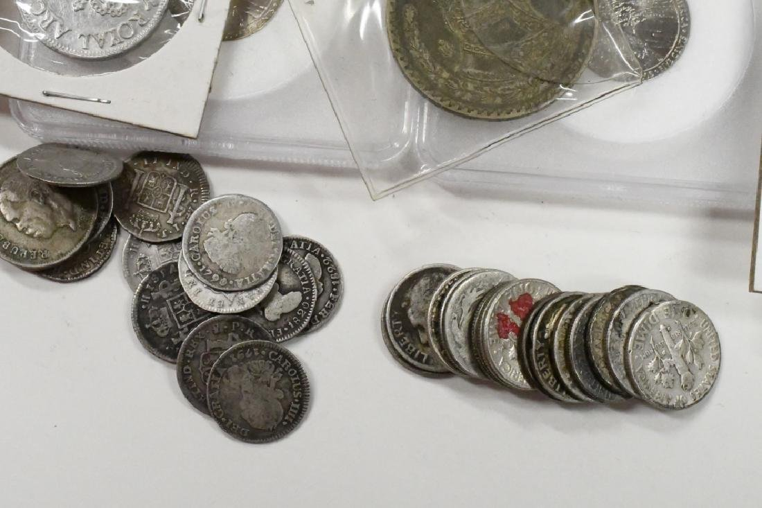 Large Lot of US and Foreign Coins - 6