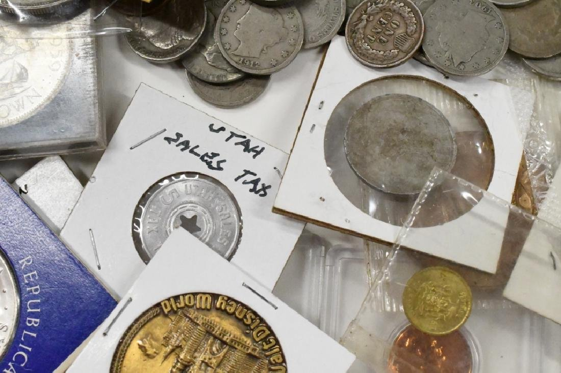 Large Lot of US and Foreign Coins - 8