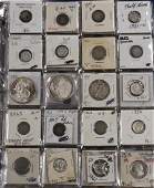 Binder of US Type and Collector Coins