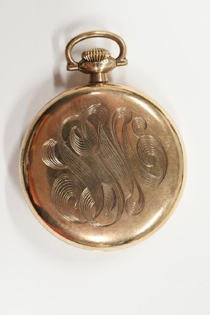 Elgin 17 Jewel Father Time Pocket Watch - 2