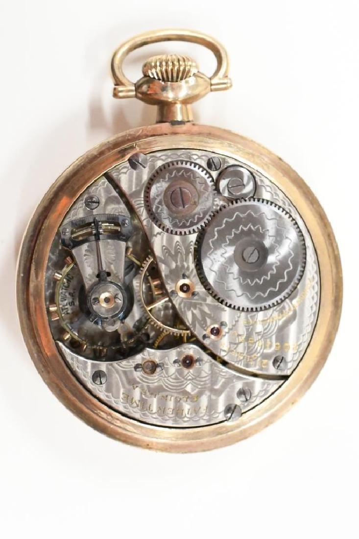 Elgin 17 Jewel Father Time Pocket Watch - 3