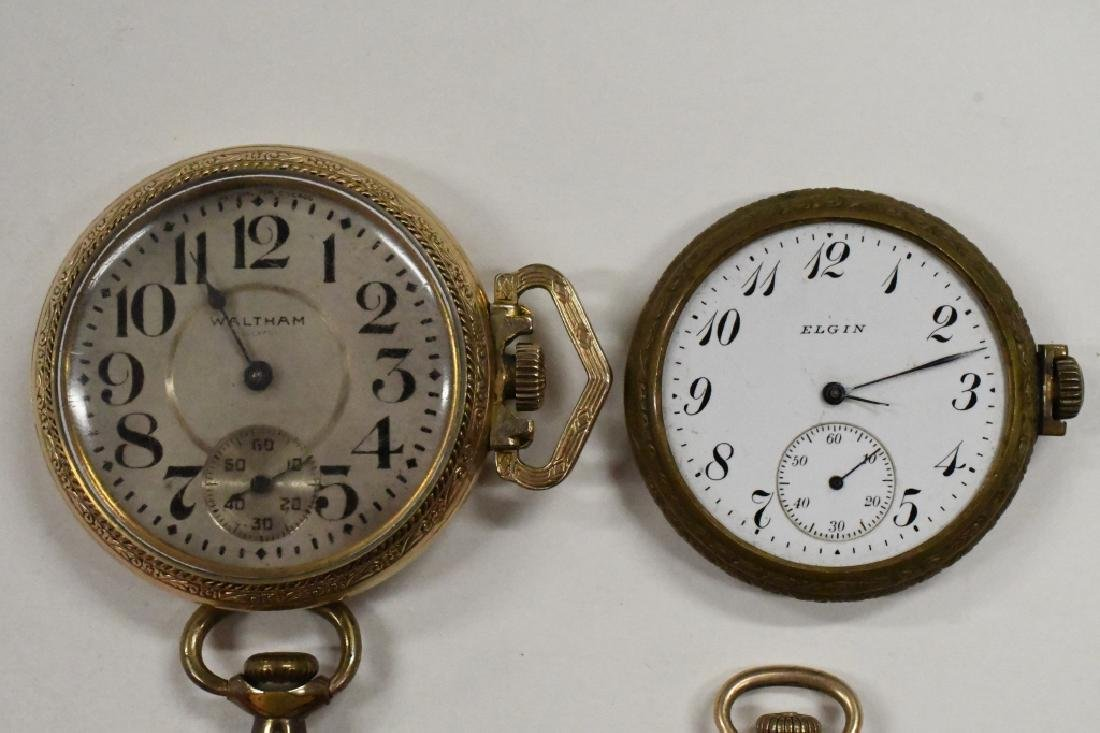 Four Vintage Pocket Watches For Parts Or Repair - 2