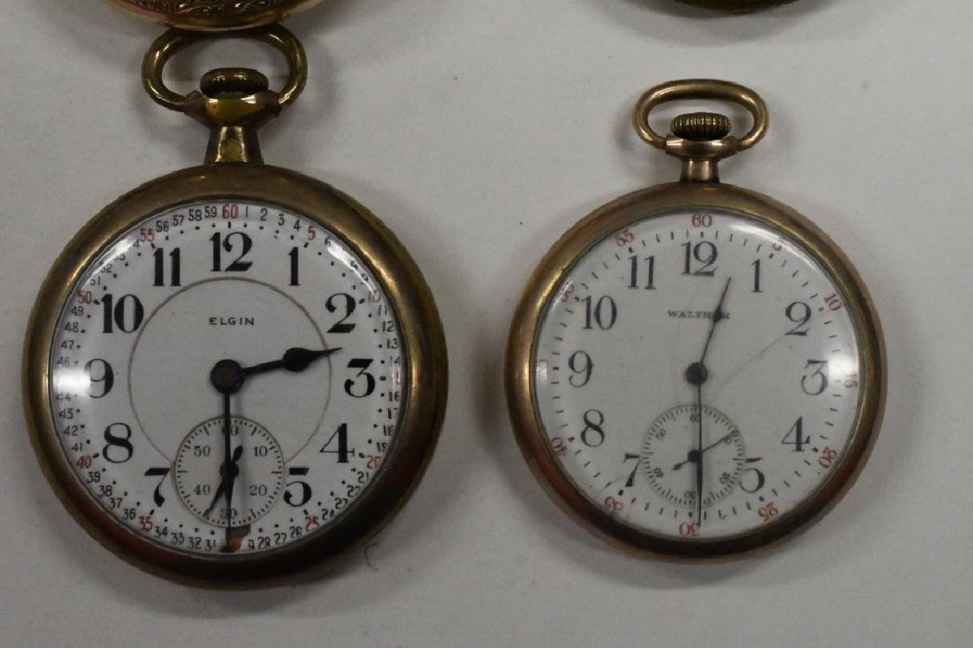Four Vintage Pocket Watches For Parts Or Repair - 3
