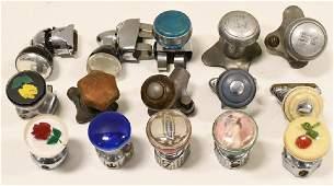 Lot Of 15 Vintage Suicide Steering Wheel Knobs