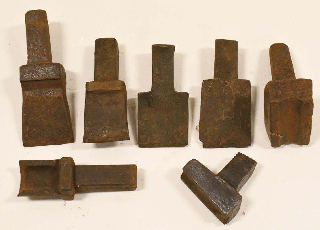 Vintage Anvil Tool Attachment Lot