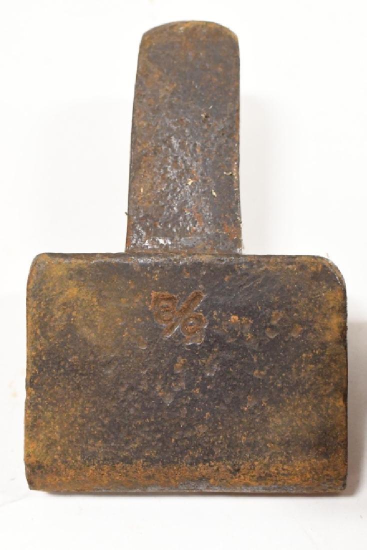 Vintage Anvil Tool Attachment Lot - 2