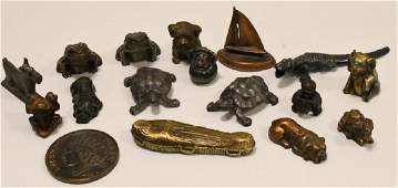 Vtg Crane & Breed Caskets Paperweight Collection