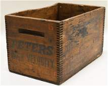 Vintage Peters High Velocity Shot Shell Crate