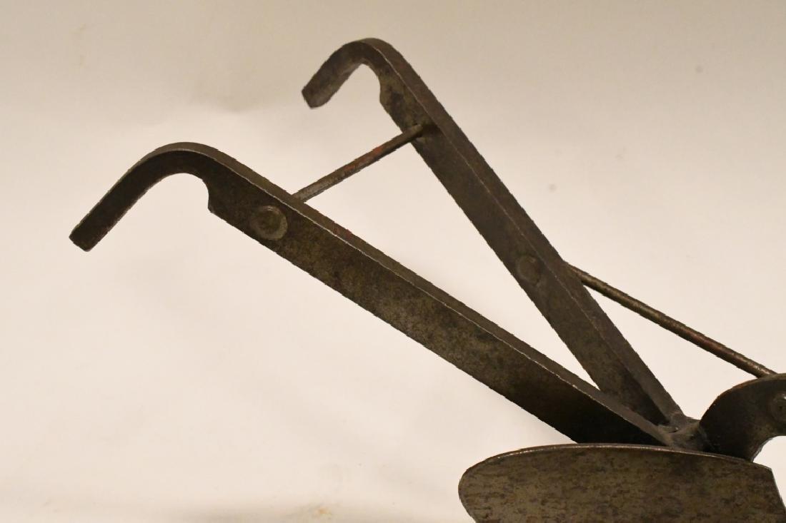 Vintage Plow Paper Weight - 3