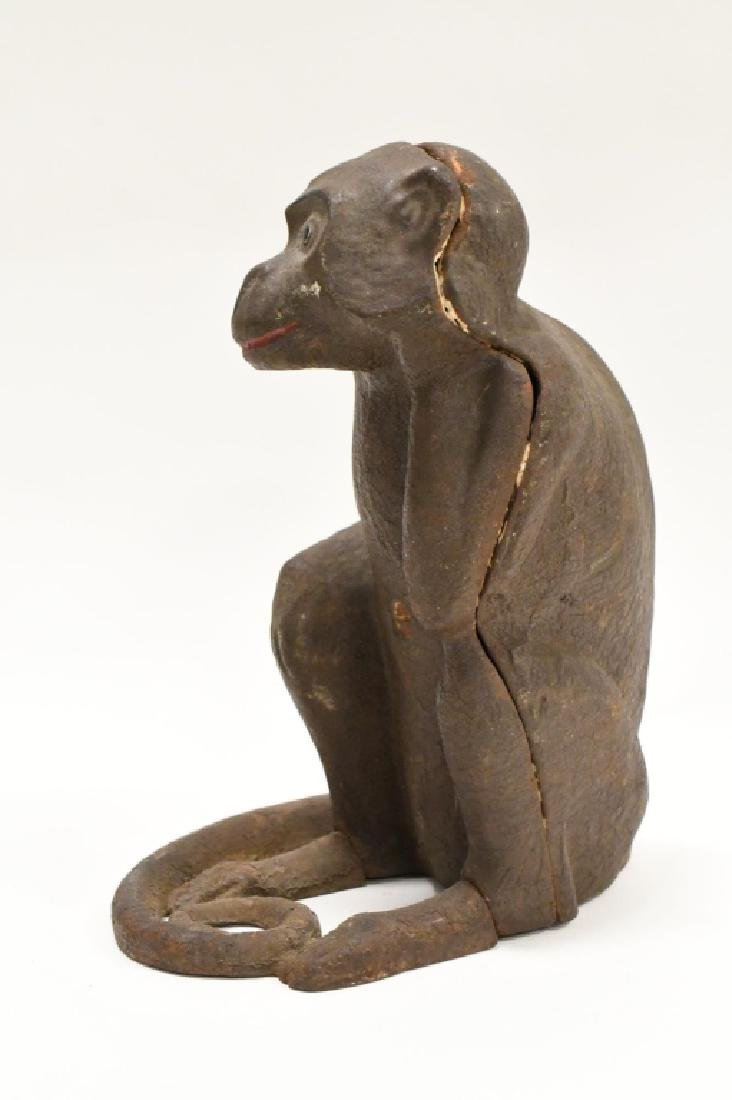 Cast Iron Monkey Door Stop - 2